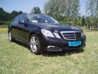 Zwarte Taxi Mercedes