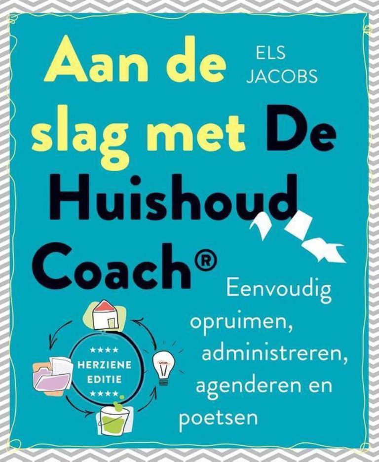 Aan de slag met de huishoud coach els jacobs voorkant
