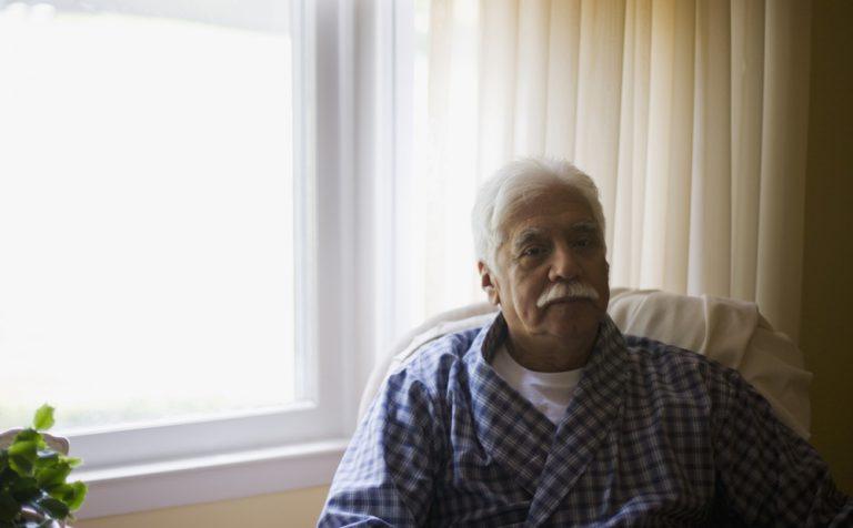 foto van een oudere meneer