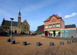 Foto van het warenhuis museum in het land van Axel