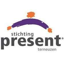 Logo van stichting present terneuzen