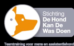 Logo van stichting de hond kan de was doen